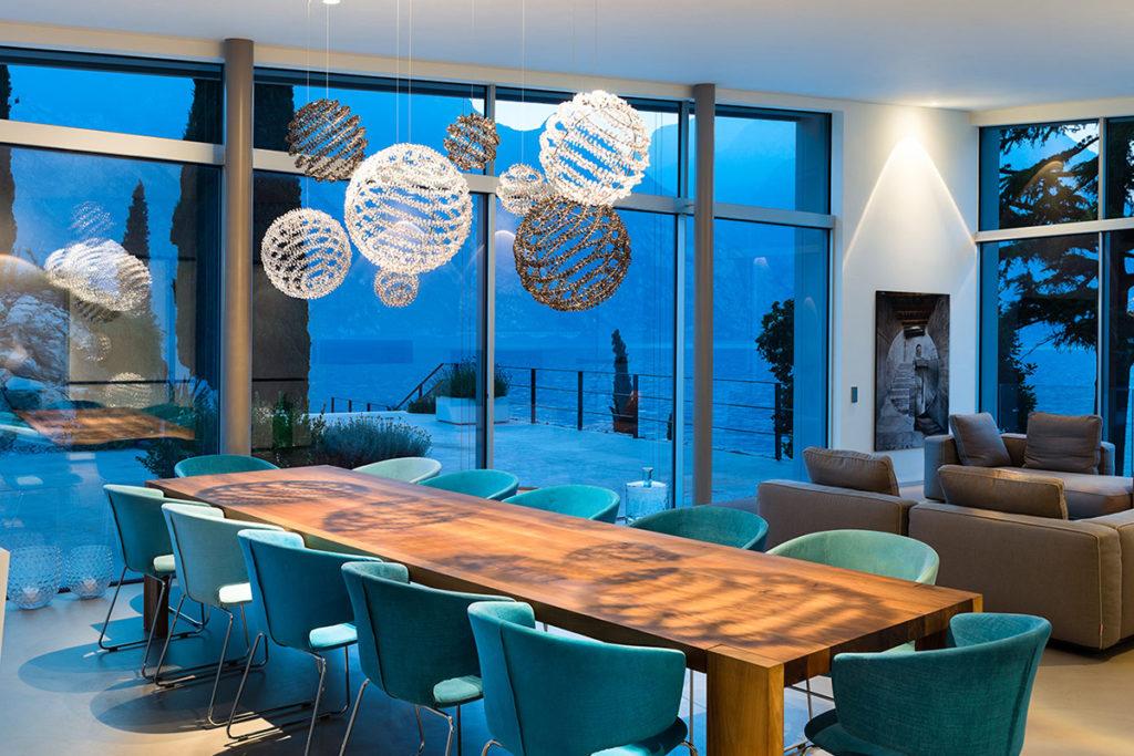 Designbeleuchtung im Ferienhaus